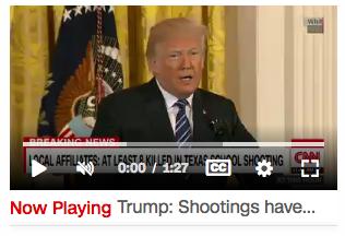 Trump Statement Santa Fe Shooting