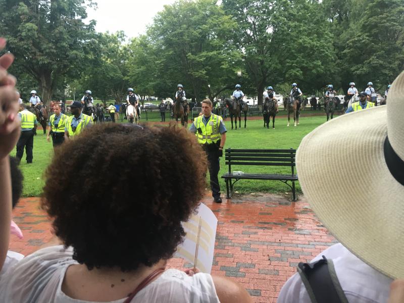 DC Counterprotest 8-12-2018